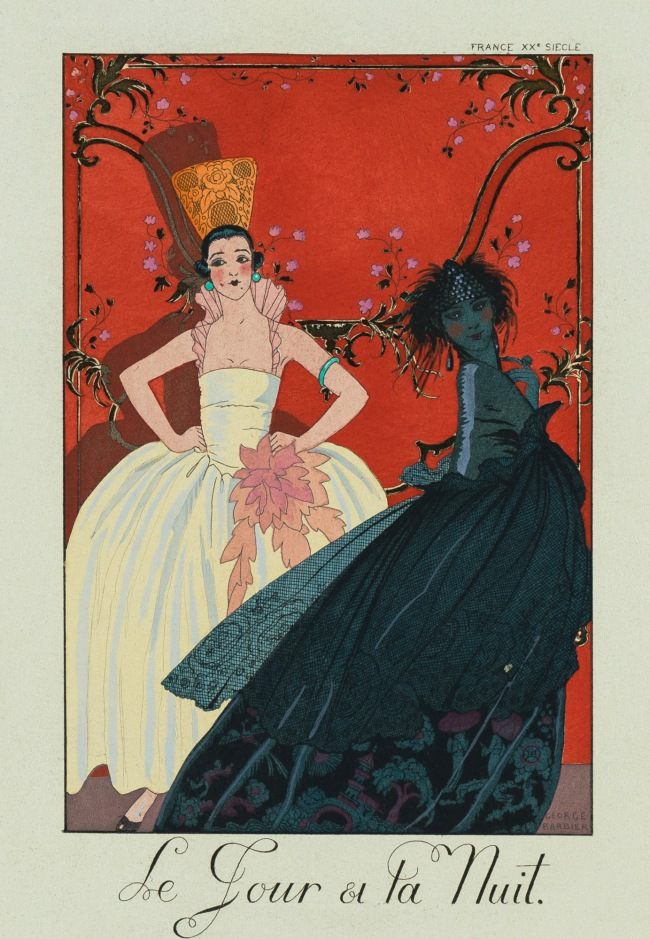 George Barbier (1882-1932) 'Day and Night' 1924