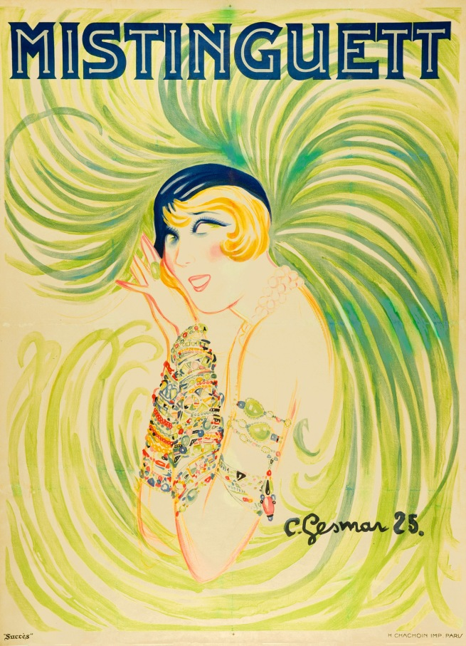 Charles Gesmar (1900-1928) 'Mistinguett' 1925