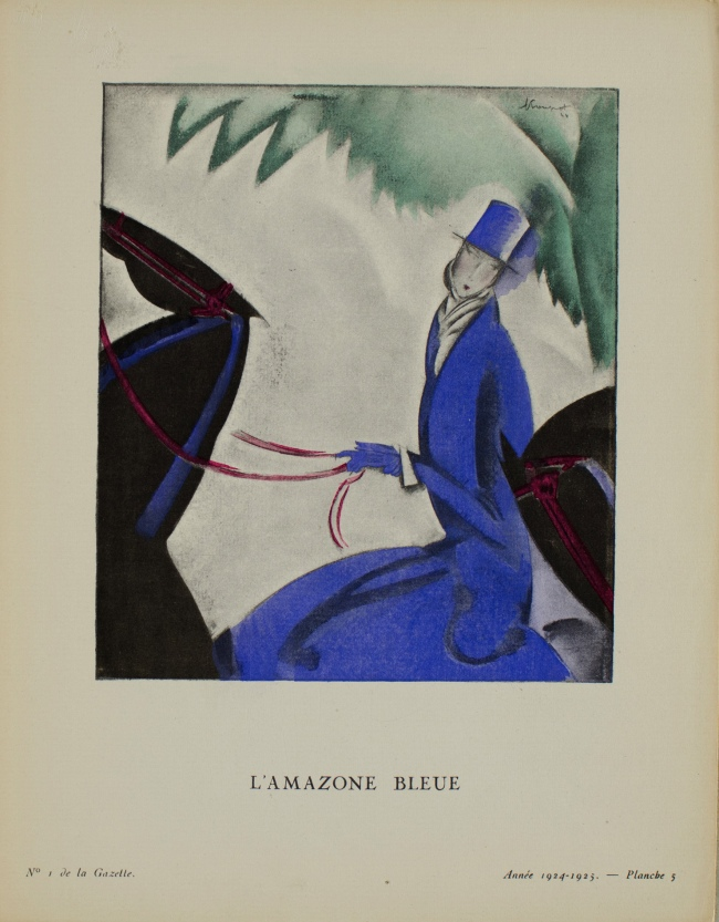 Charles Loupot (1892-1962) 'The Blue Amazon' 1924