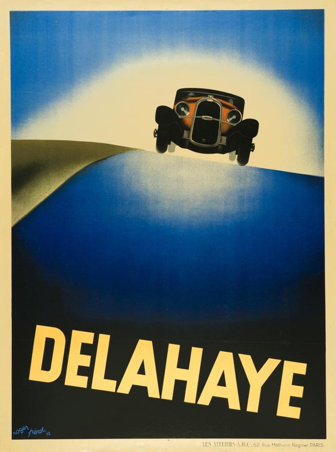 Roger Pérot (1908-1976) 'Delahaye' 1932
