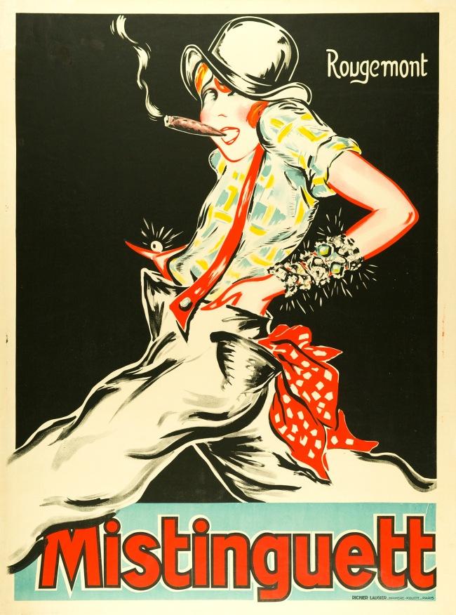 Rougemont. 'Mistinguett' 1928/29