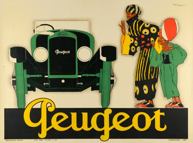 René Vincent (1879-1936) 'Peugeot' 1928