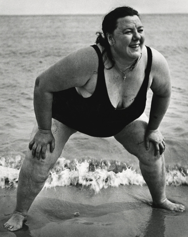 Lisette Model (1901-1983) 'Coney Island Bather, New York' [Baigneuse, Coney Island] c. 1939-1941