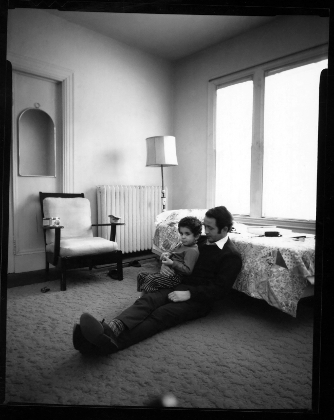 Susan Meiselas (b. 1948, Baltimore) 'Sharif and Son' 1971