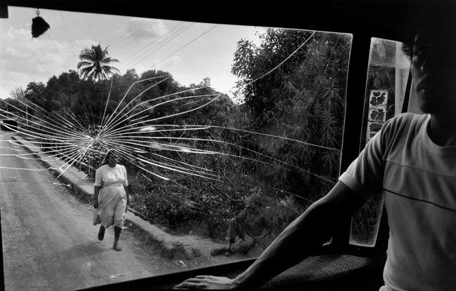 Susan Meiselas(b. 1948, Baltimore) 'Route pour Aguilares, El Salvador' 1983