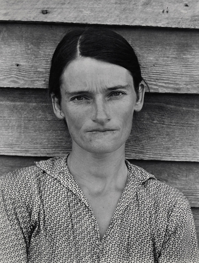 Walker Evans (1903-1975) 'Tenant Farmer's Wife, Alabama' 1936