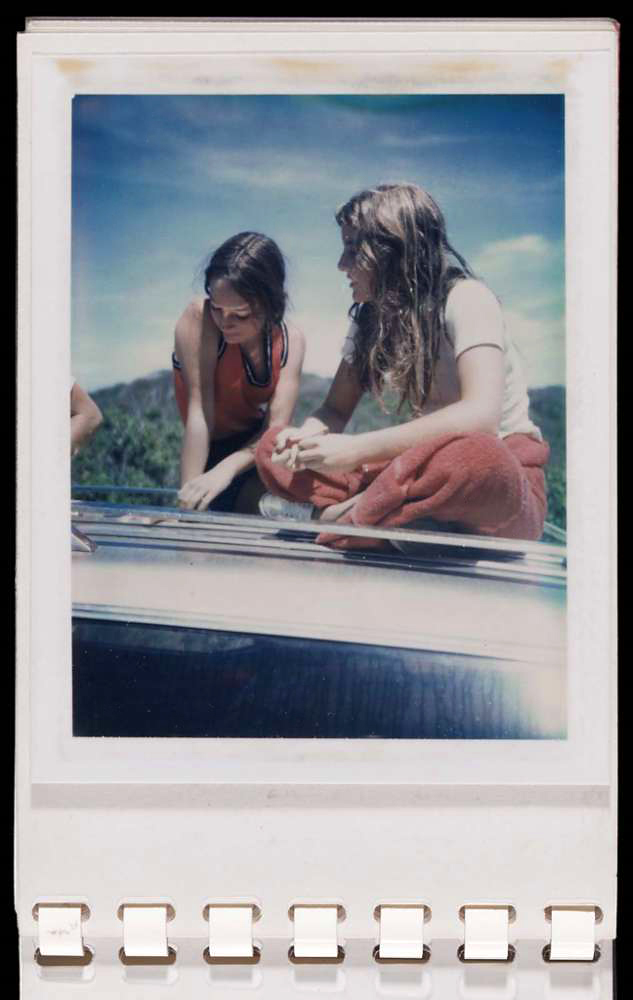 Andy Warhol (American, 1928-1987) 'Red Book: Tina Radziwill and Caroline Kennedy, Montauk' 1972