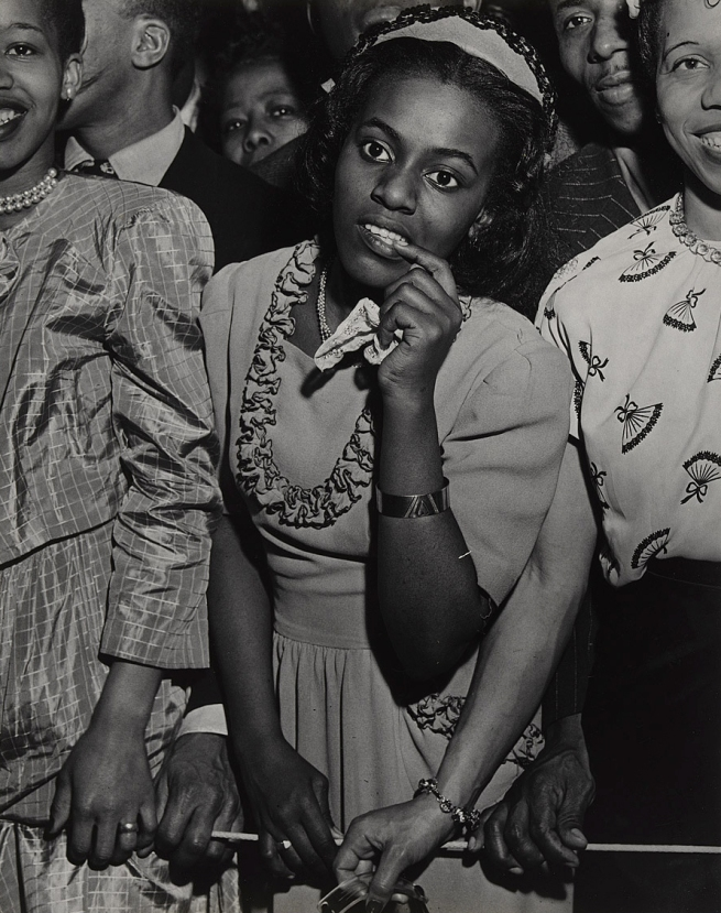 Weegee (Arthur Fellig) (1899-1968) 'No title (at a concert in Harlem)' c. 1948