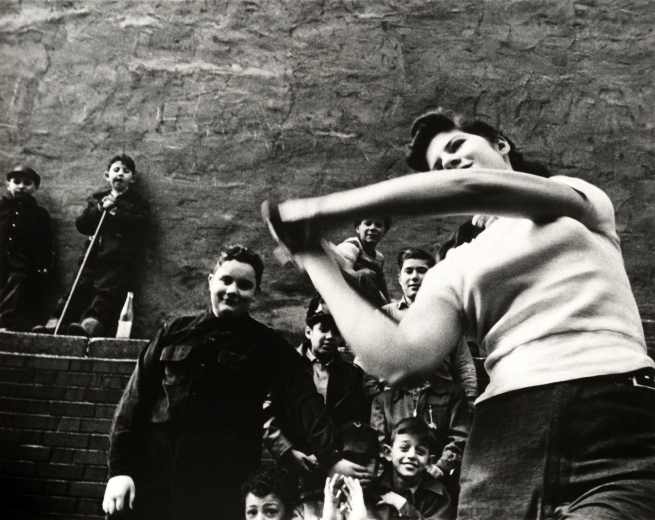 William Klein (born April 19, 1928) 'Stickball gang, New York' 1955