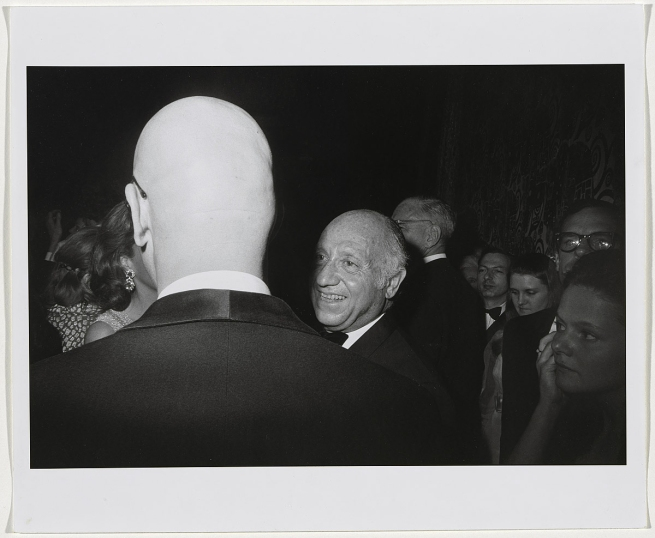 Garry Winogrand (1928-1984) 'No title [Centennial Ball, Metropolitan Museum, New York]' 1969