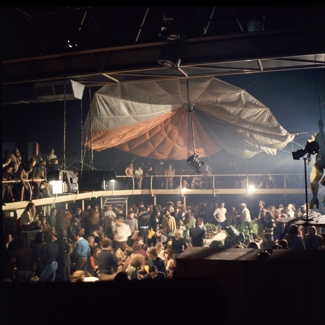 An evening at the Space Electronic, Florence, 1971