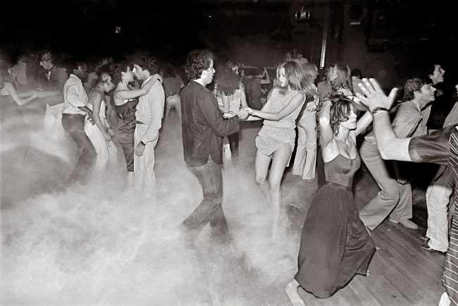 Bill Bernstein. 'Dance floor at Xenon' New York, 1979