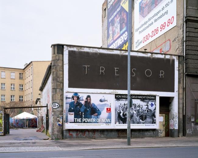 Martin Eberle. 'Tresor außen' Berlin, 1996
