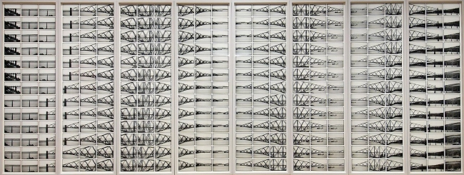 Dieter Appelt (born 1935) 'Forth Bridge - Cinema. Metric Space, 2004' 2004