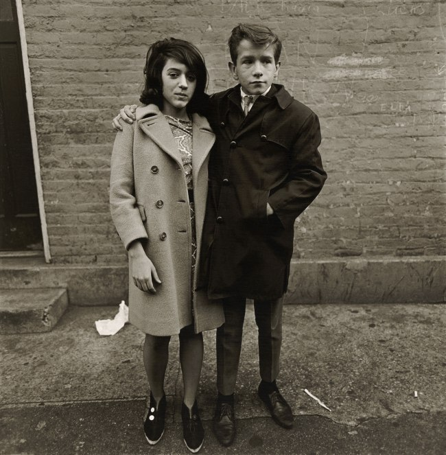 Diane Arbus (1923-71) 'Teenage couple on Hudson Street, N.Y.C. 1963' 1963