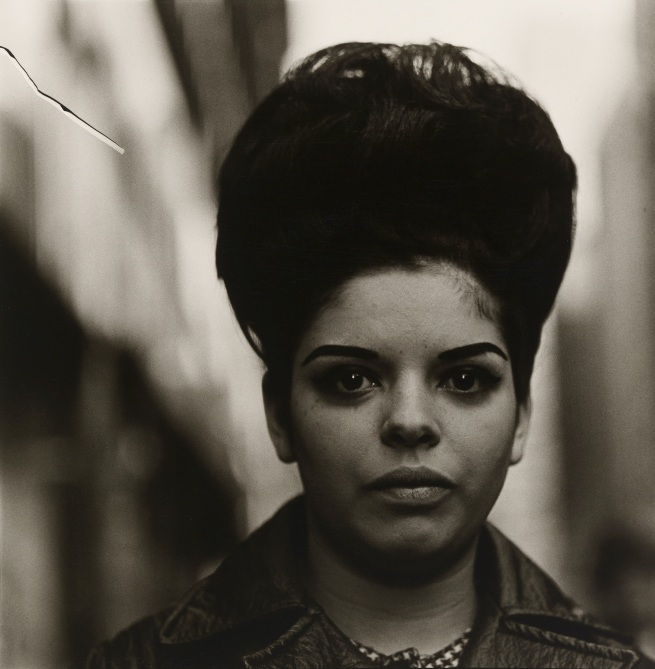 Diane Arbus (1923-71) 'Woman with a beehive hairdo' 1965