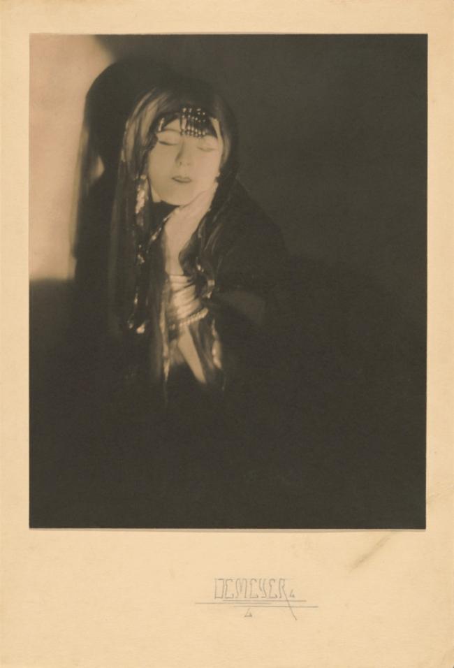 Baron Adolf de Meyer (American, born France, 1868-1946) '[Ruth St. Denis]' c. 1918
