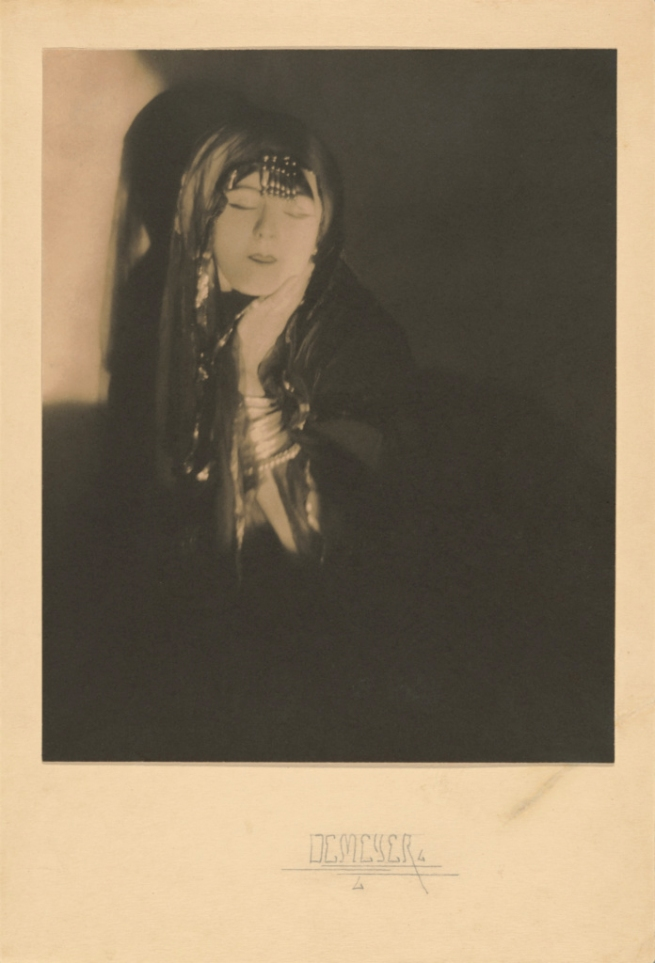 Baron Adolf de Meyer (American, born France, 1868-1946) '[Ruth St. Denis]' c. 1918