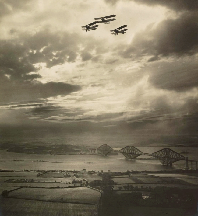 Alfred G. Buckham (1879 - 1956) 'The Forth Bridge' c. 1920