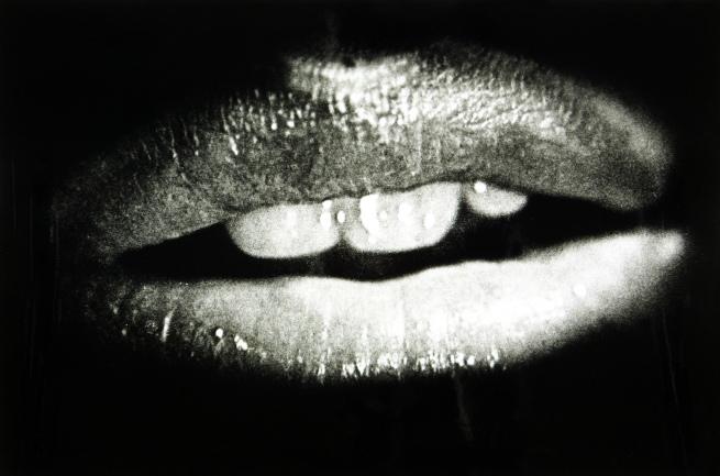 Daidō Moriyama. 'Lips from a Poster' 1975