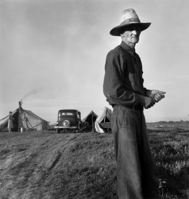 Dorothea Lange. 'Drought Refugees' c. 1935