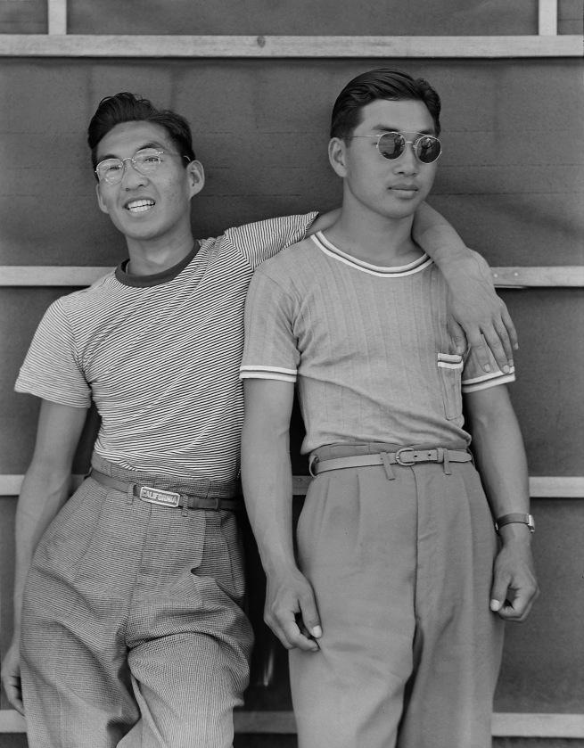 Dorothea Lange. 'Sacramento, California. College students of Japanese ancestry' 1942