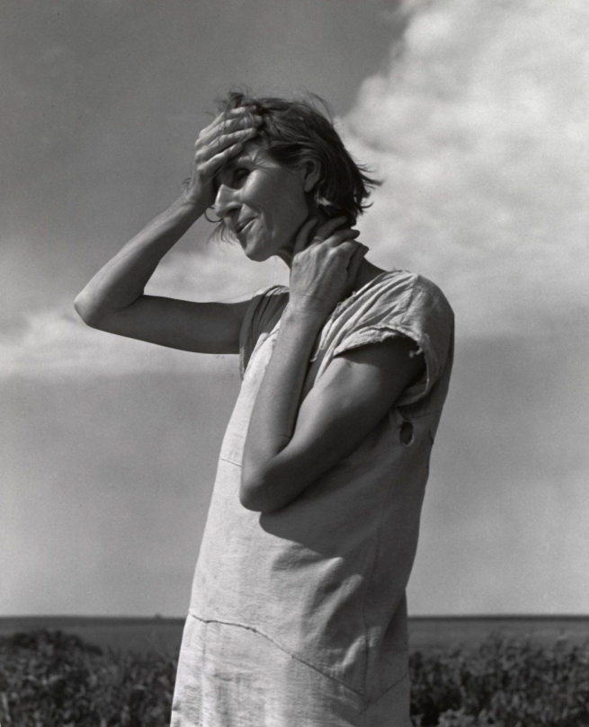 Dorothea Lange. 'Woman of the High Plains, Texas Panhandle' June 1938