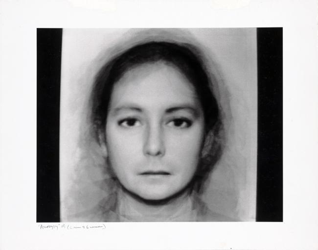 Nancy Burson (American, born 1948) 'Androgyny' 1982
