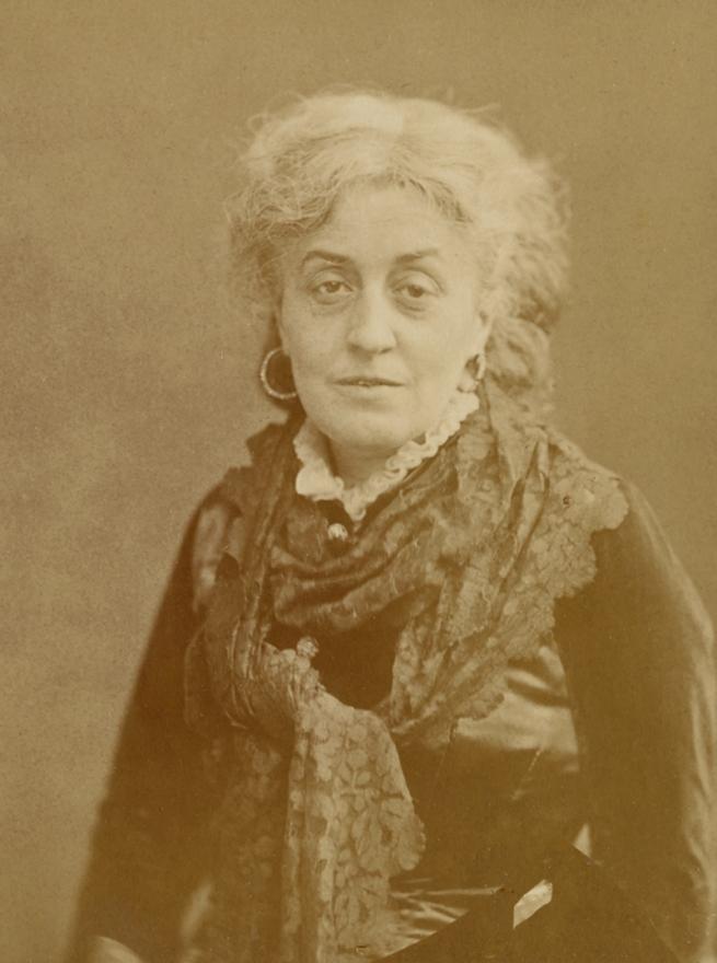 Nadar [Gaspard Félix Tournachon] (French, 1820-1910) '[Mme Ernestine Nadar]' 1880-1883 (detail)