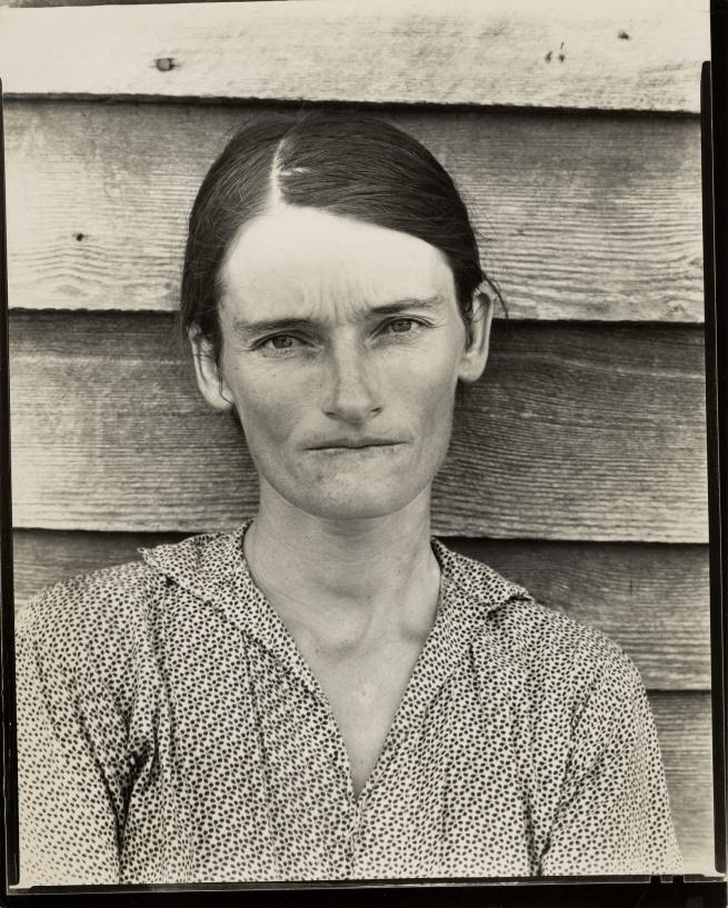 Walker Evans (American, 1903-1975) 'Allie Mae Burroughs, Hale County, Alabama' Negative 1936; print 1950s