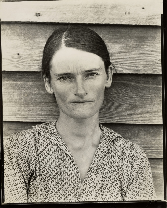 Walker Evans (American, 1903-1975) 'Allie Mae Burroughs, Hale County, Alabama' 1936