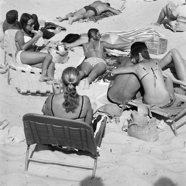 John Williams(1933-2016) 'Bondi Beach, Sydney' 1964