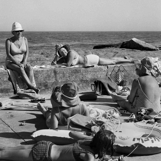 John Williams(1933- 2016) 'Clovelly Beach' 1964