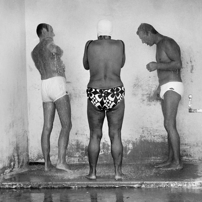 John Williams(1933- 2016) 'Open Air Shower, Bronte Beach' 1964