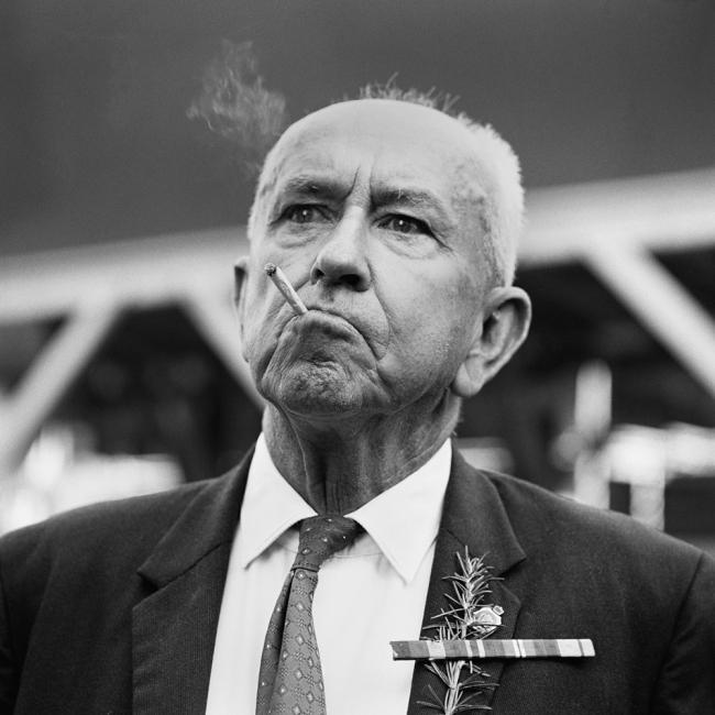 John Williams(1933- 2016) 'Anzac Day, Martin Place' 1964