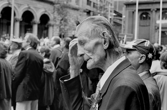 John Williams(1933- 2016) 'Anzac Day, Sydney' 2000