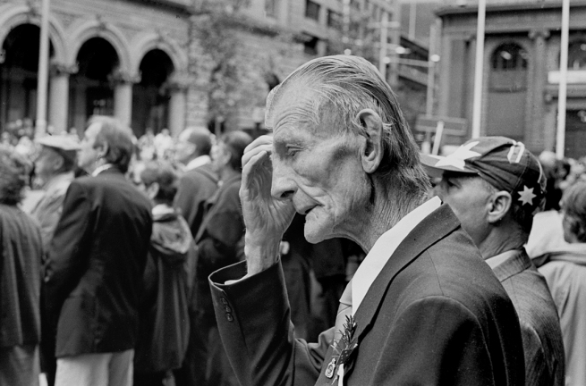 John Williams (1933- 2016) 'Anzac Day, Sydney' 2000