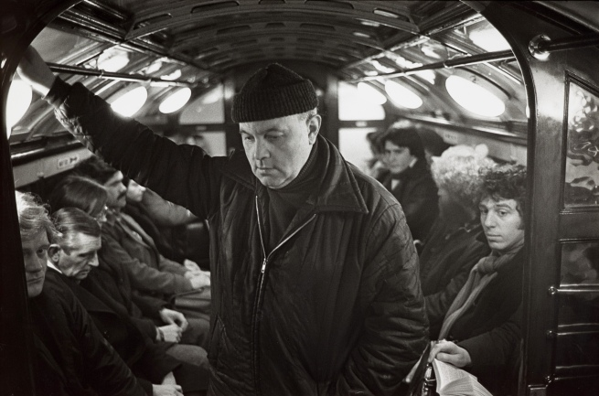 Iain Mackenzie. 'Man on the Metro, Glasgow' c. 1980
