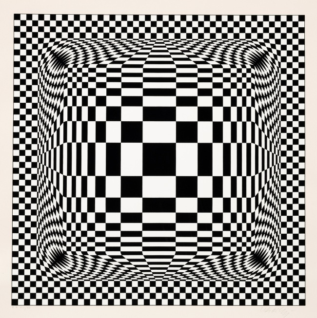 Victor Vasarely. 'Nora-Dell' 1974-1979