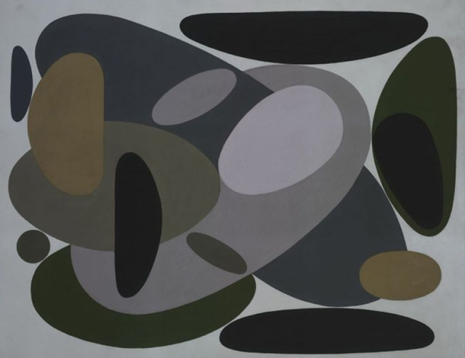 Victor Vasarely. 'Vessant' (Versant) 1952