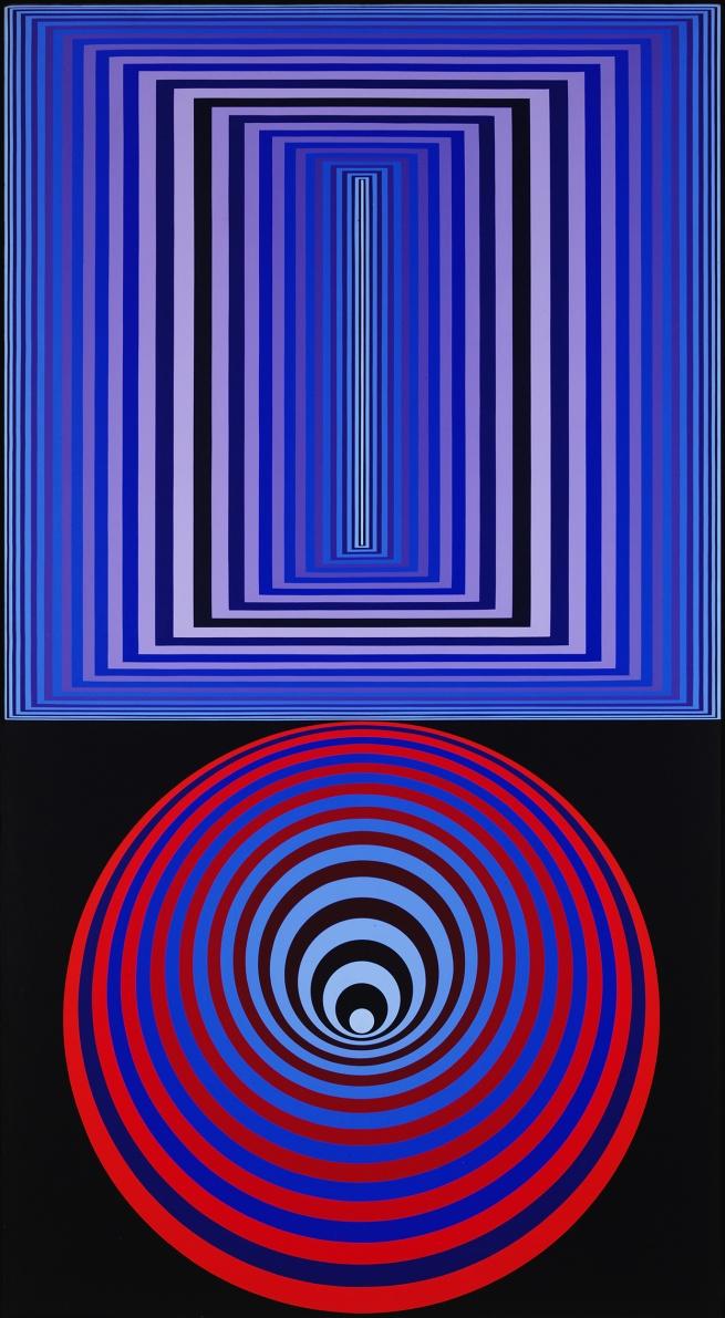 Victor Vasarely. 'Doupla' 1970-1975