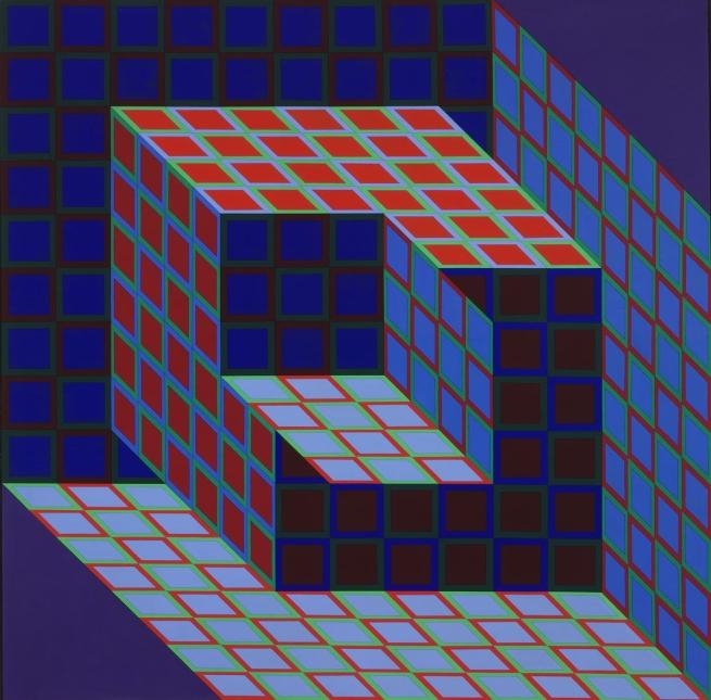 Victor Vasarely. 'Kotzka' 1973-1976