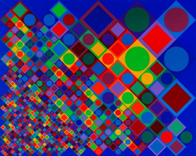 Victor Vasarely. 'Marsan-2' 1964-1974