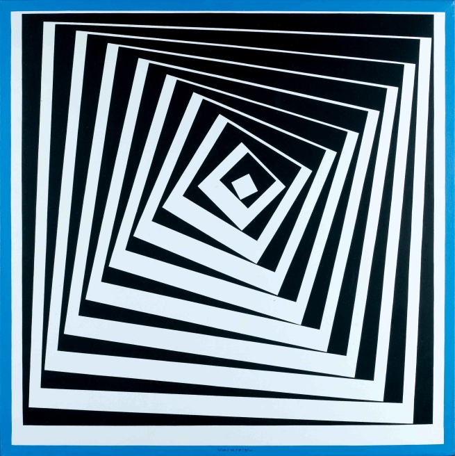 Victor Vasarely. 'Pavo II' 1979