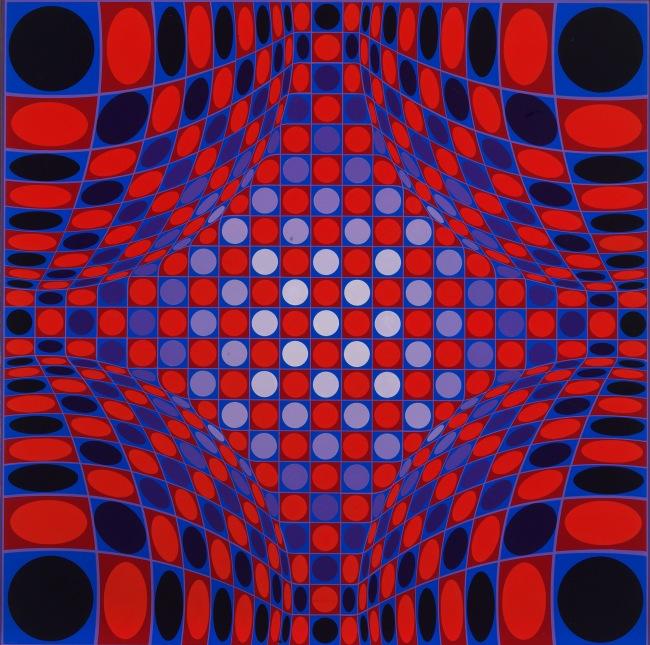 Victor Vasarely. 'Stri-Per' 1973-1974