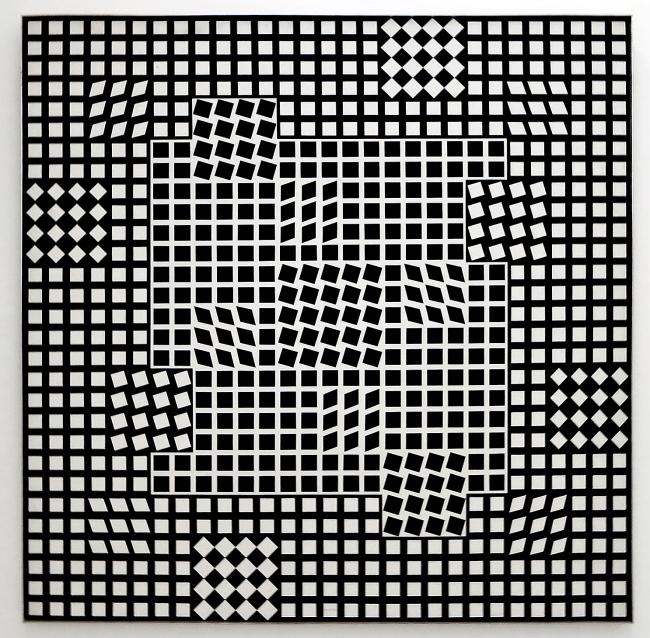 Victor Vasarely. 'Tlinko-F' 1956-1962