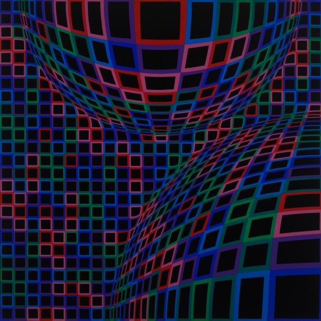 Victor Vasarely. 'Toro' 1973-1974