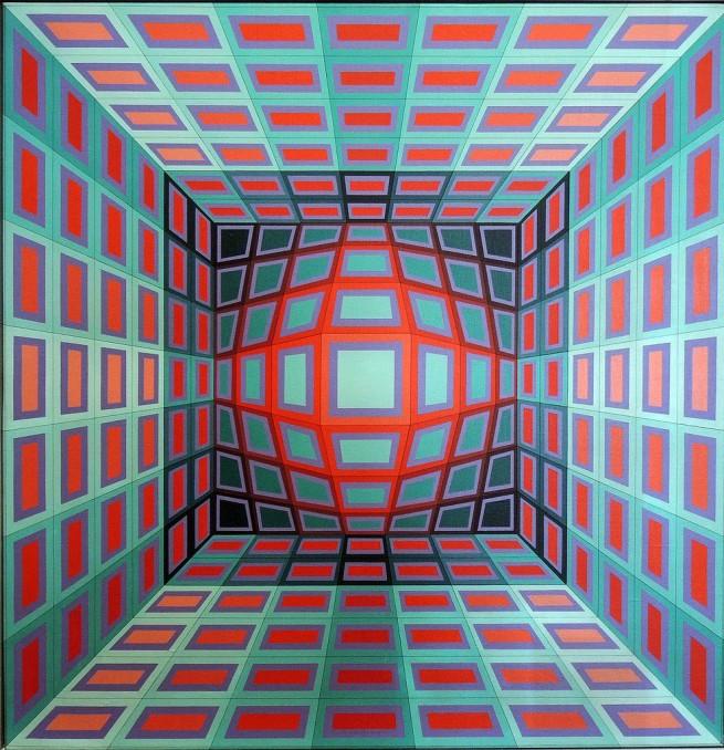 Victor Vasarely. 'Yllus' 1978