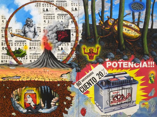 David Wojnarowicz (1954-1992) 'Fire' 1987