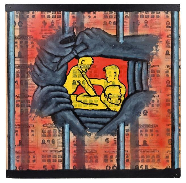 David Wojnarowicz (1954-1992) 'Prison Rape' 1984